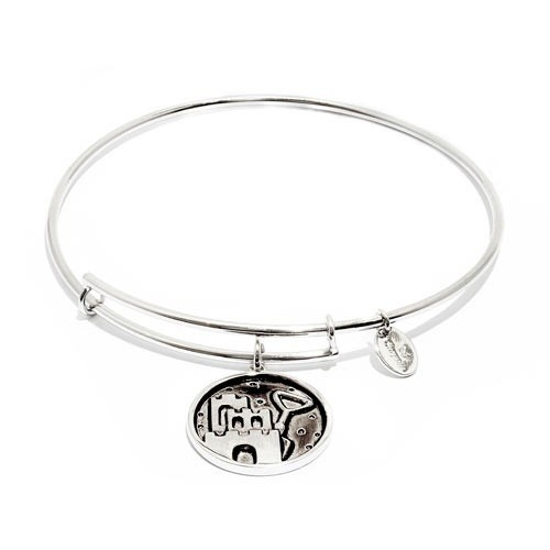 Chrysalis Oceania Collection - Castle & Shovel Expandable Bangle - Silver - Small