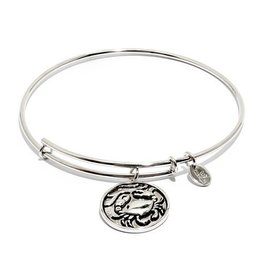 Oceania Collection - Crab Expandable Bangle - Silver - Standard