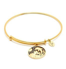 Oceania Collection - Dolphin Expandable Bangle - Gold - Standard
