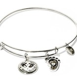Chrysalis Friends & Family Collection - New Baby - Small SIze - Silver