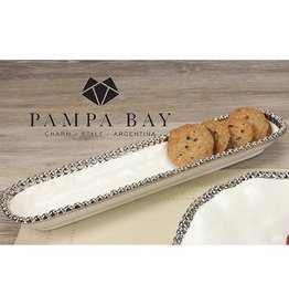 Pampa Bay Cracker Tray/White