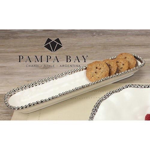 Pampa Bay Cracker Tray/White