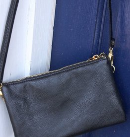 Caroline HIll Liz Crossbody - Black