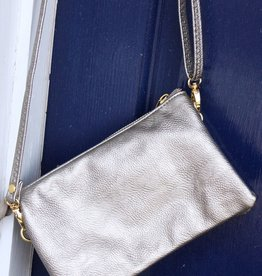 Caroline HIll Liz Crossbody Bag - Pewter