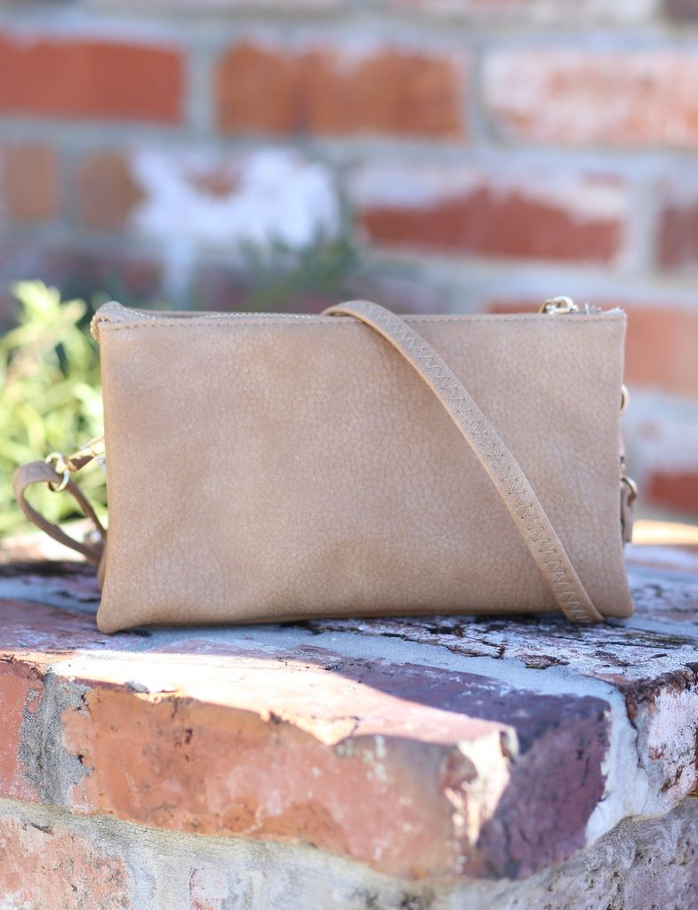 Caroline Hill Custom Collection Crossbody - Perfect Tan