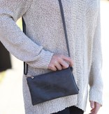 Caroline Hill Liz Crossbody - Dark Gray