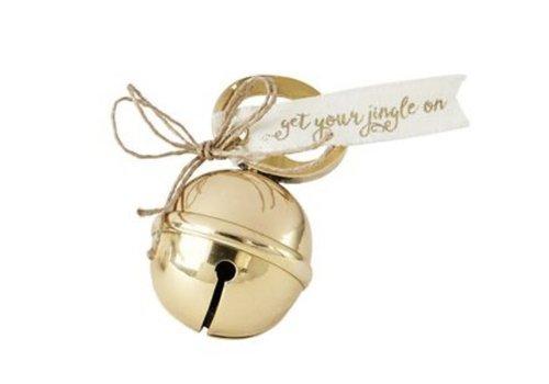 Gold Jingle Bell Bottle Opener