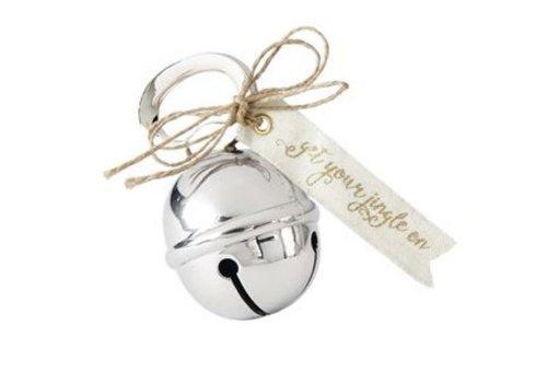 Silver Jingle Bell Bottle Opener
