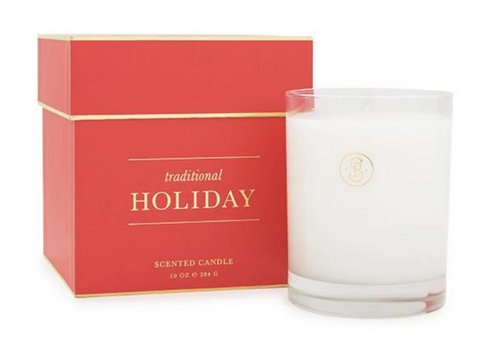 Sugar Paper Traditional Holiday Candle