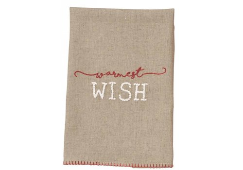 Wish French Knot Towel