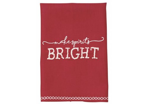 Bright French Knot Towel