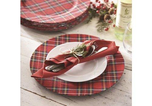 Tartan Christmas Charger