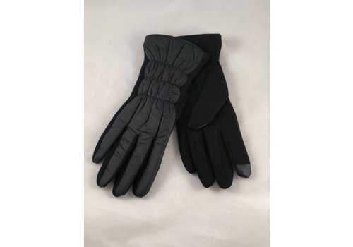 Black All Weather Texting Glove