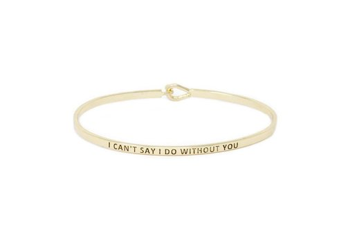 U.S. Jewelry House I Can't Say I Do Without You-Bracelet