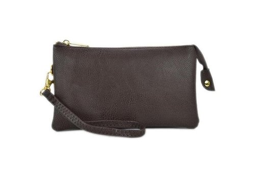 AH!dorned Coffee Solid 3 Way Crossbody