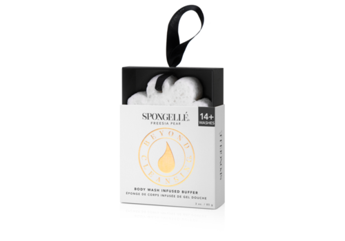 Spongelle Flower Boxed-Freesia Pear-White (+14 Uses)