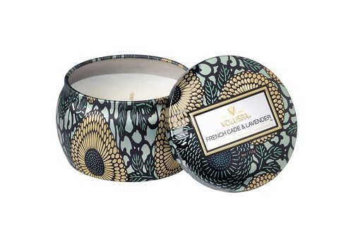 Voluspa French Cade and Lavender Mini Tin Candle