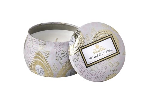 Panjore Lychee Mini Tin Candle