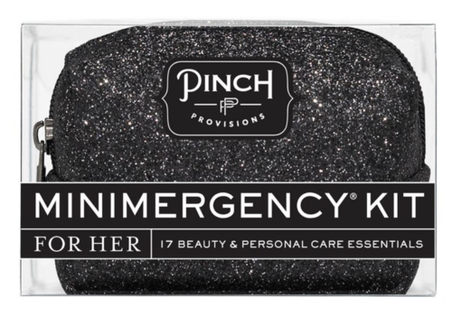 Pinch Provisions Glitter Black- Minimergency Kit for Her