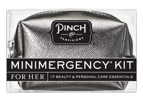 Pinch Provisions Metallic Gunmetal - Minimergency Kit for Her