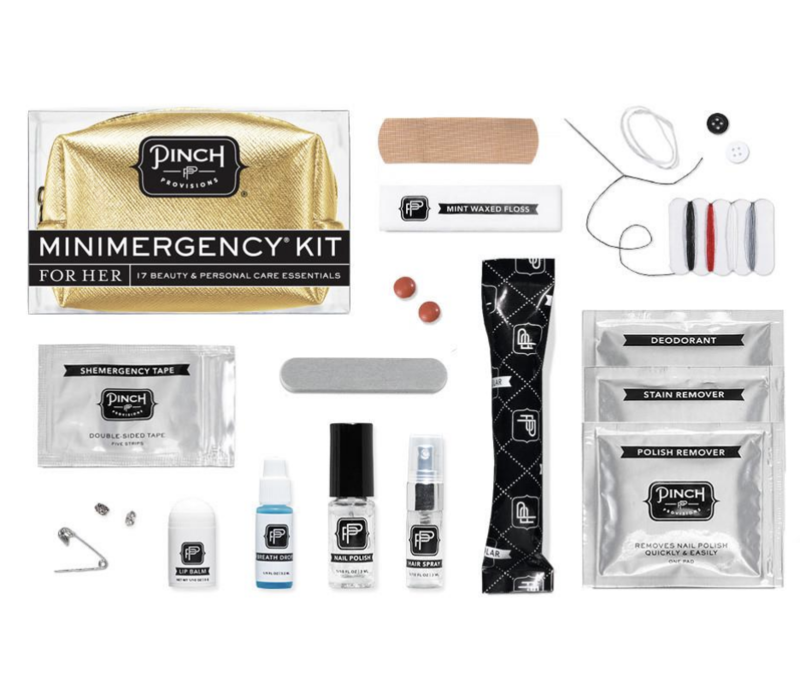 Metallic Gunmetal - Minimergency Kit for Her