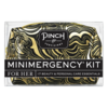 Pinch Provisions Swirl Black and Gold- Minimergency Kit for Her