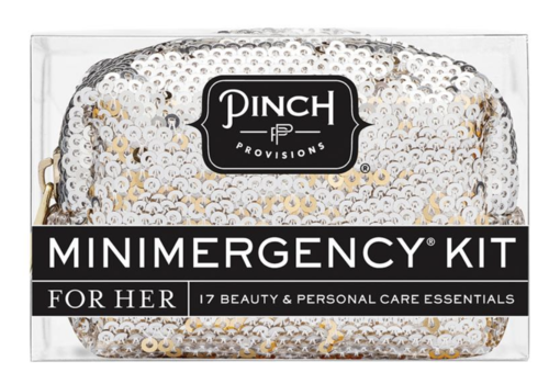 Pinch Provisions Sequin Silver- Minimergency Kit for Her