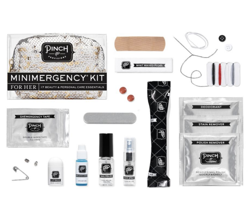 Sequin Silver- Minimergency Kit for Her