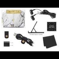 White Marble Midi Tech Kit