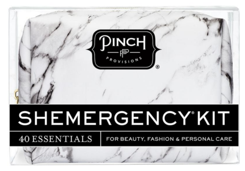 Pinch Provisions Shemergency Kit White Marble