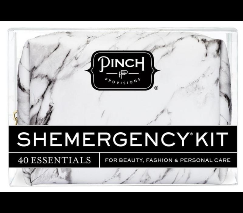 Shemergency Kit White Marble