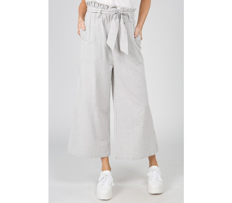 White Paper Bag Gauchos