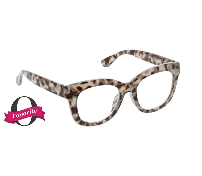 Center Stage-Grey Tortoise Readers +2.50
