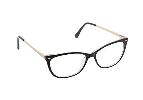 Peepers Collins Avenue-Black/Gold Readers +1.75