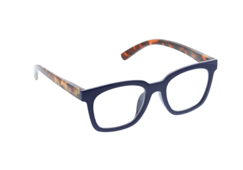 Peepers To the Max-Navy/Tortoise +2.00