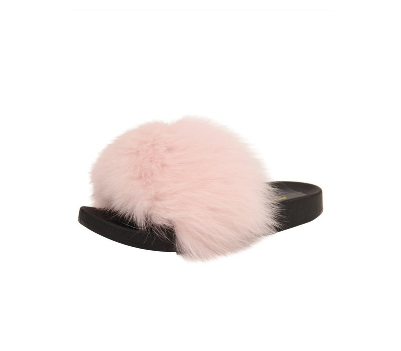 Fox Fur Lt Pink Sandal