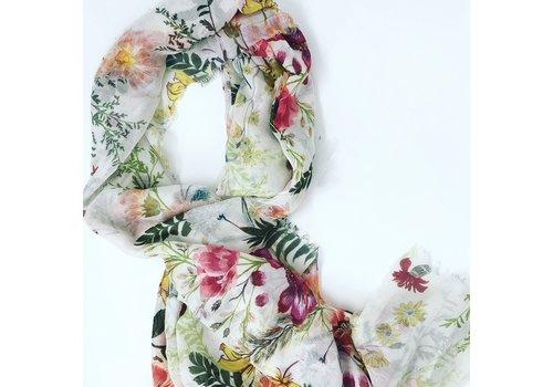Echo Status Floral Wrap