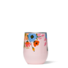 Corkcicle Rifle Paper Stemless-Lively Floral Blush
