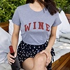 Sub_Urban Riot Wine Loose Tee