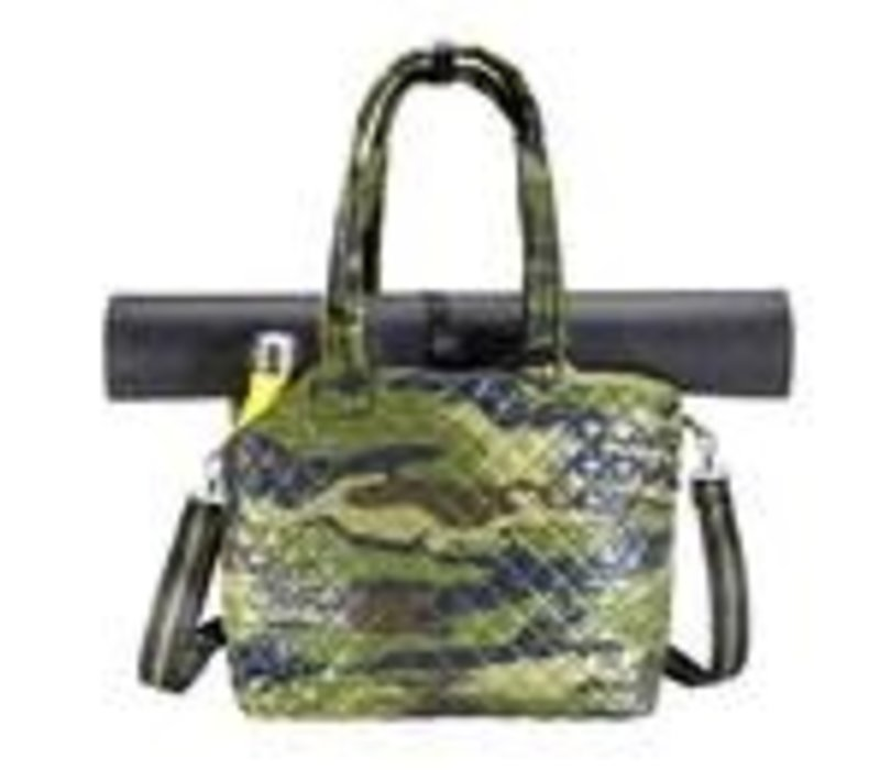 Kitchen Sink Tote Green Camo
