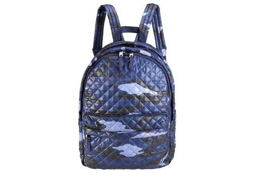 24 +7 Large Laptop Backpack Blue camo