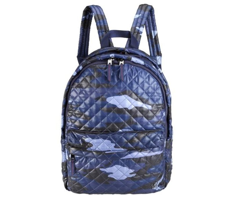 24 +7 Large Laptop Backpack Blue camo