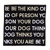 Oliver Thomas Be The Kind of Person Blk/wht Peal and Stick Badge