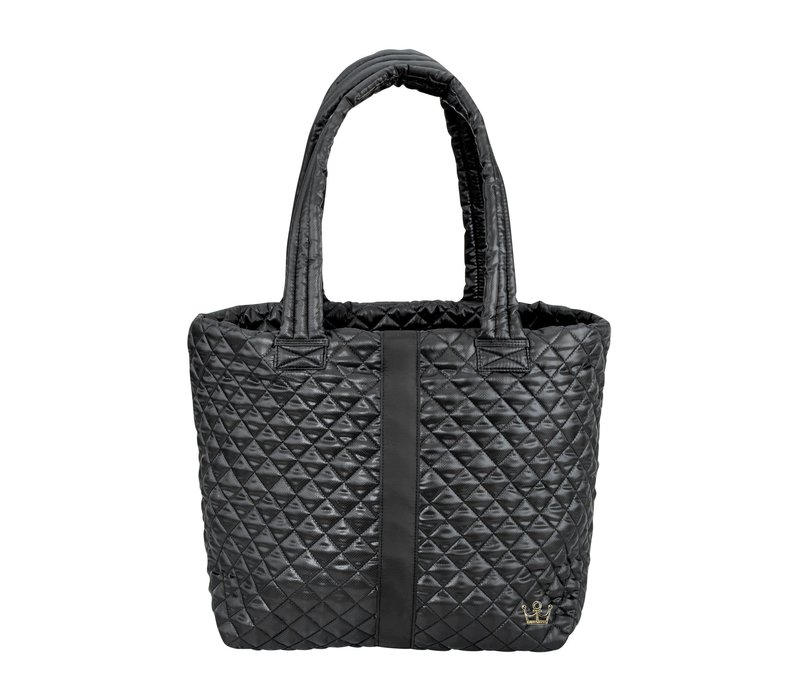Large Wingwoman Tote- Black