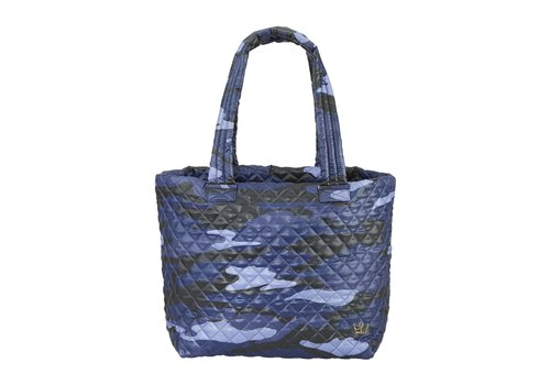 Oliver Thomas Large Wingwoman Tote- Blue Camo