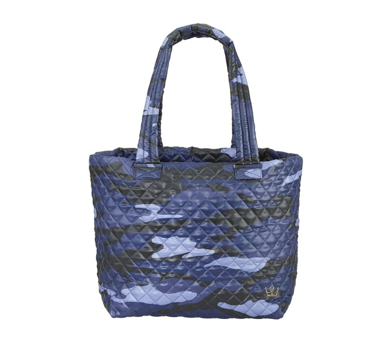 Large Wingwoman Tote- Blue Camo