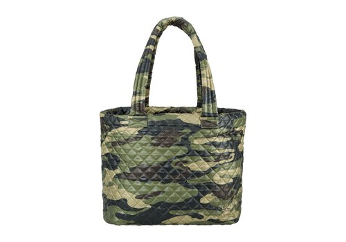 Oliver Thomas Large Wingwoman Tote- Green Camo