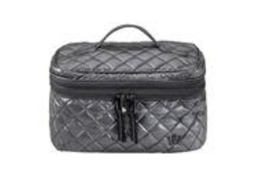 Oliver Thomas Not a Trainwreck Cosmetic Case-Gunmetal