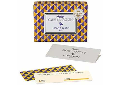 Wild & Wolf Ridley's Games Room Movie Buff Card Game