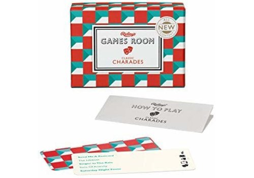 Wild & Wolf Ridley's Games Room Classic Charades Card Game